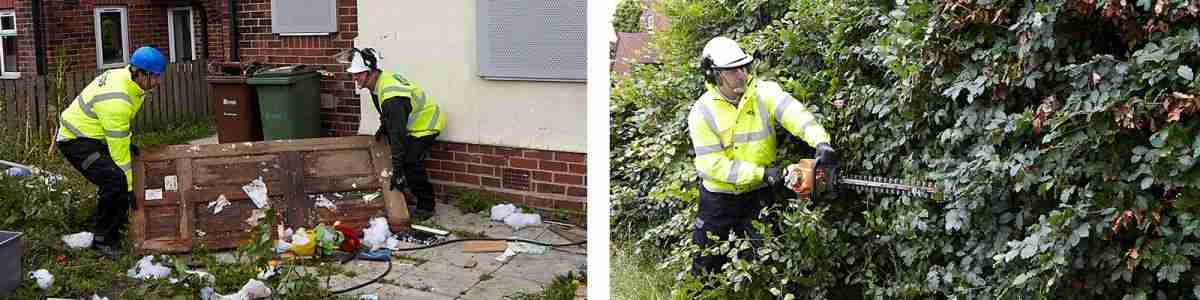 Garden Maintenance, fly tipping removal