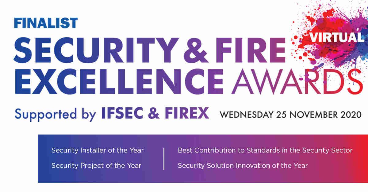 IFSEC Finalist logo