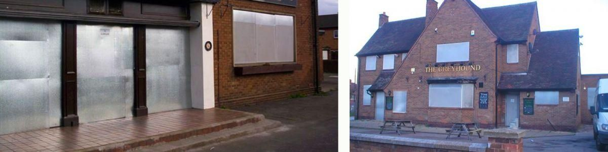 VPS   Steel Security Screens for Vacant Properties