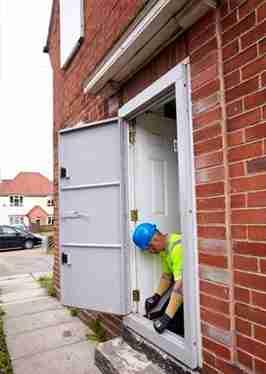High Security Steel Doors