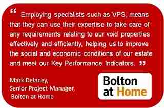 We work with letting agents, facility managers