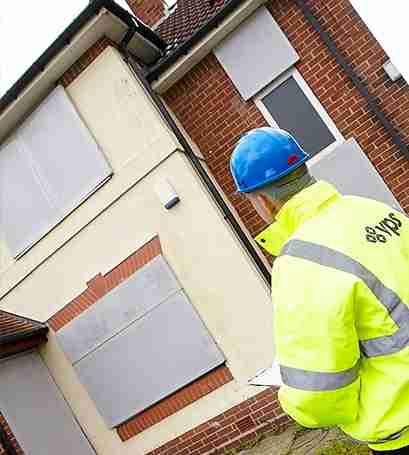 Steel Screens For Vacant Property Security