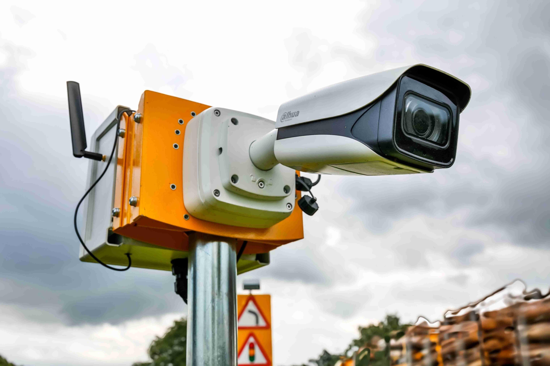 Hi-tech cameras roadside