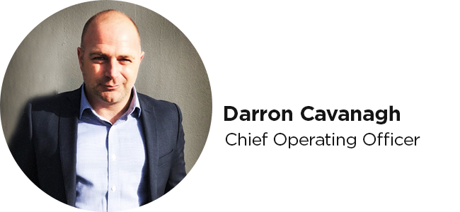 Darron Cavanagh Chief Operating Officer
