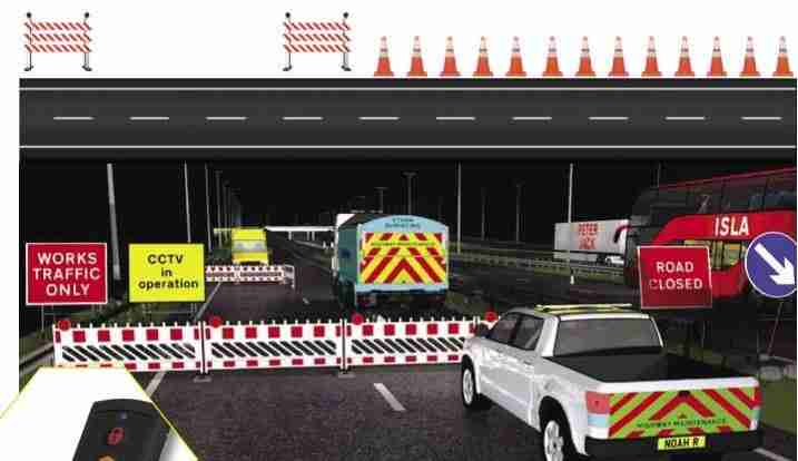 Traffic management incursion system