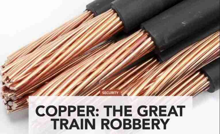 The Great Train Robbery happening daily