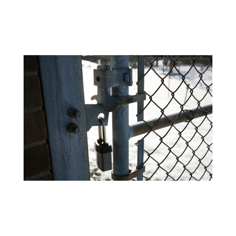 Winter security starts with the gate!