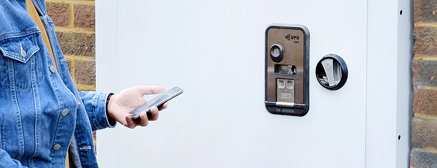 Vps Smartdoor Keyless Vacant Property Doors