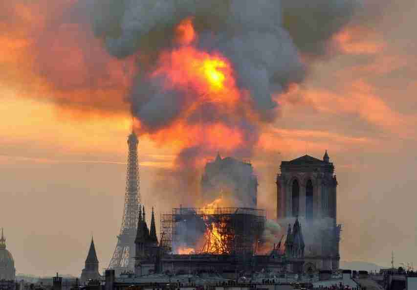 Notre Dame Fire April 2019