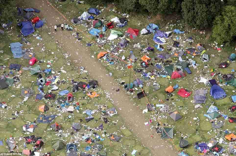 Rave aftermath
